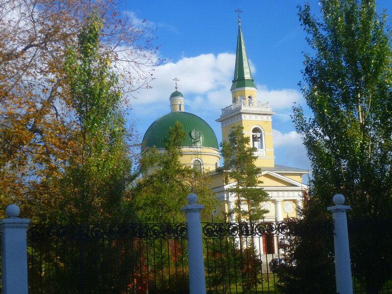 Омск, Свято-Никольский Казачий собор (Omsk, St. Nicholas Cathedral Cossack)
