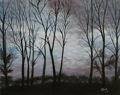 Evening Shades.Judy P. Smith