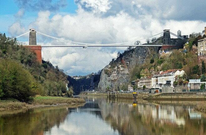 Клифтонский подвесной мост. Бристоль