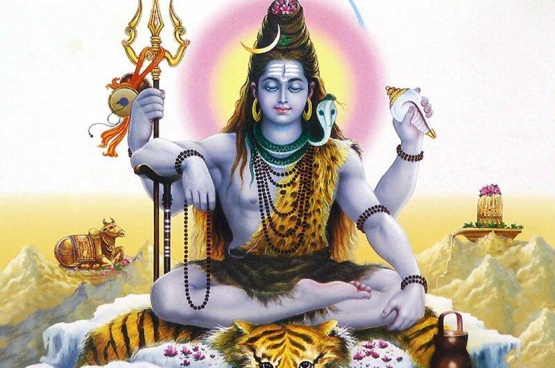 Шива бог-йог