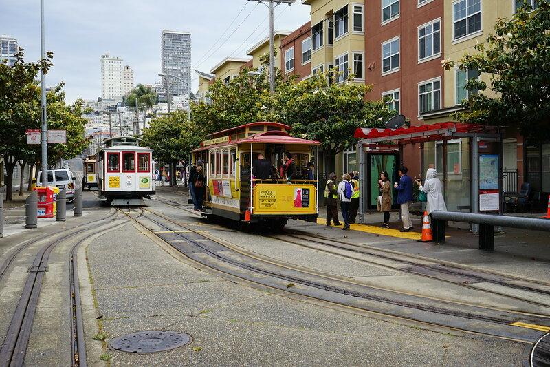 Канатный трамвай Сан-Франциско