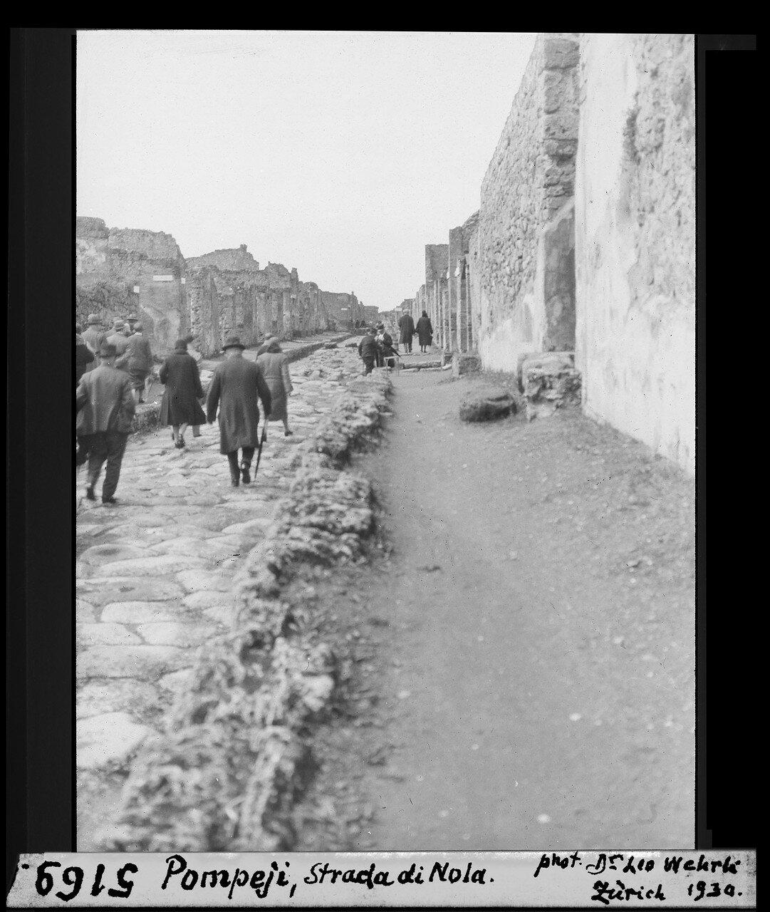 1930. Страда ди Нола