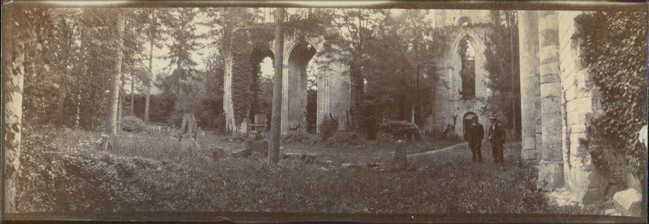 Руины Аббатства Жюмьеж
