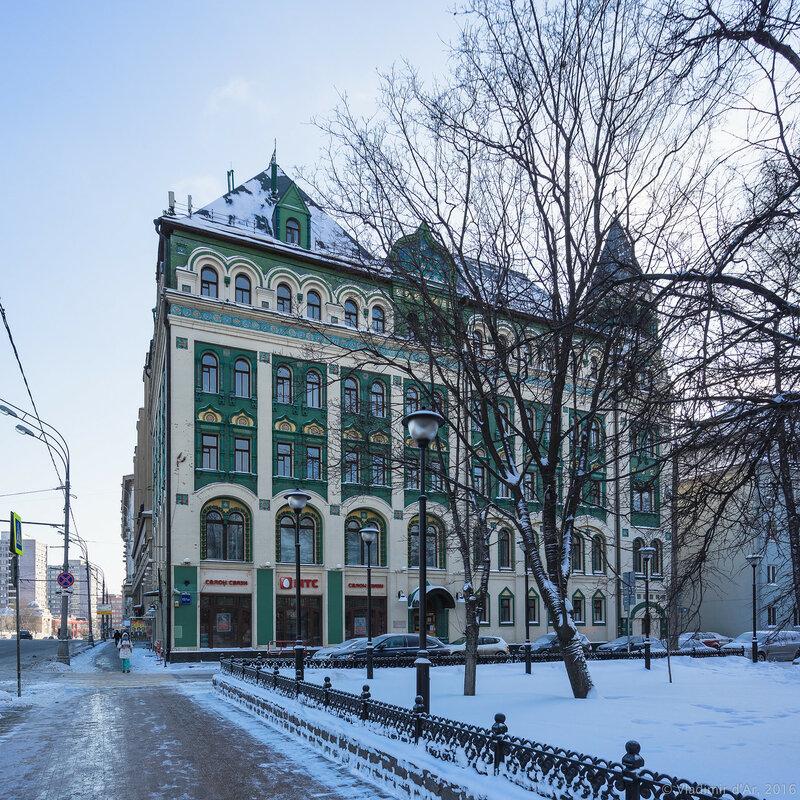 Доходный дом М.Н. Миансаровой