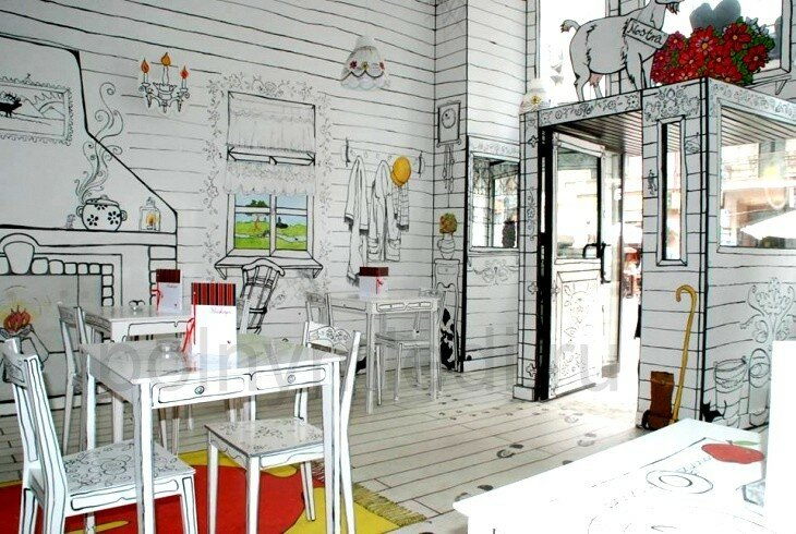 Кафе Kluska Polska в Варшаве сайт Женщина http://modnayaty.ru/.ru 7