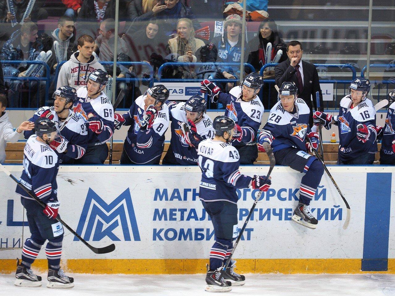 72Восток 1/4 плей-офф Металлург - Автомобилист 01.03.2016