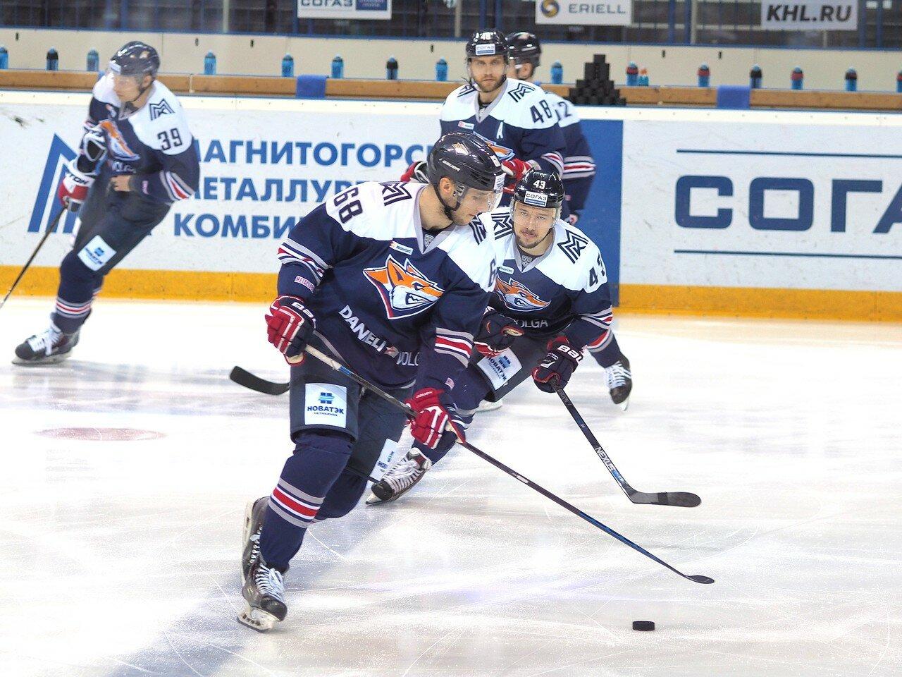 1Плей-офф 2016 Восток 1/2 Металлург - Сибирь 10.03.2016