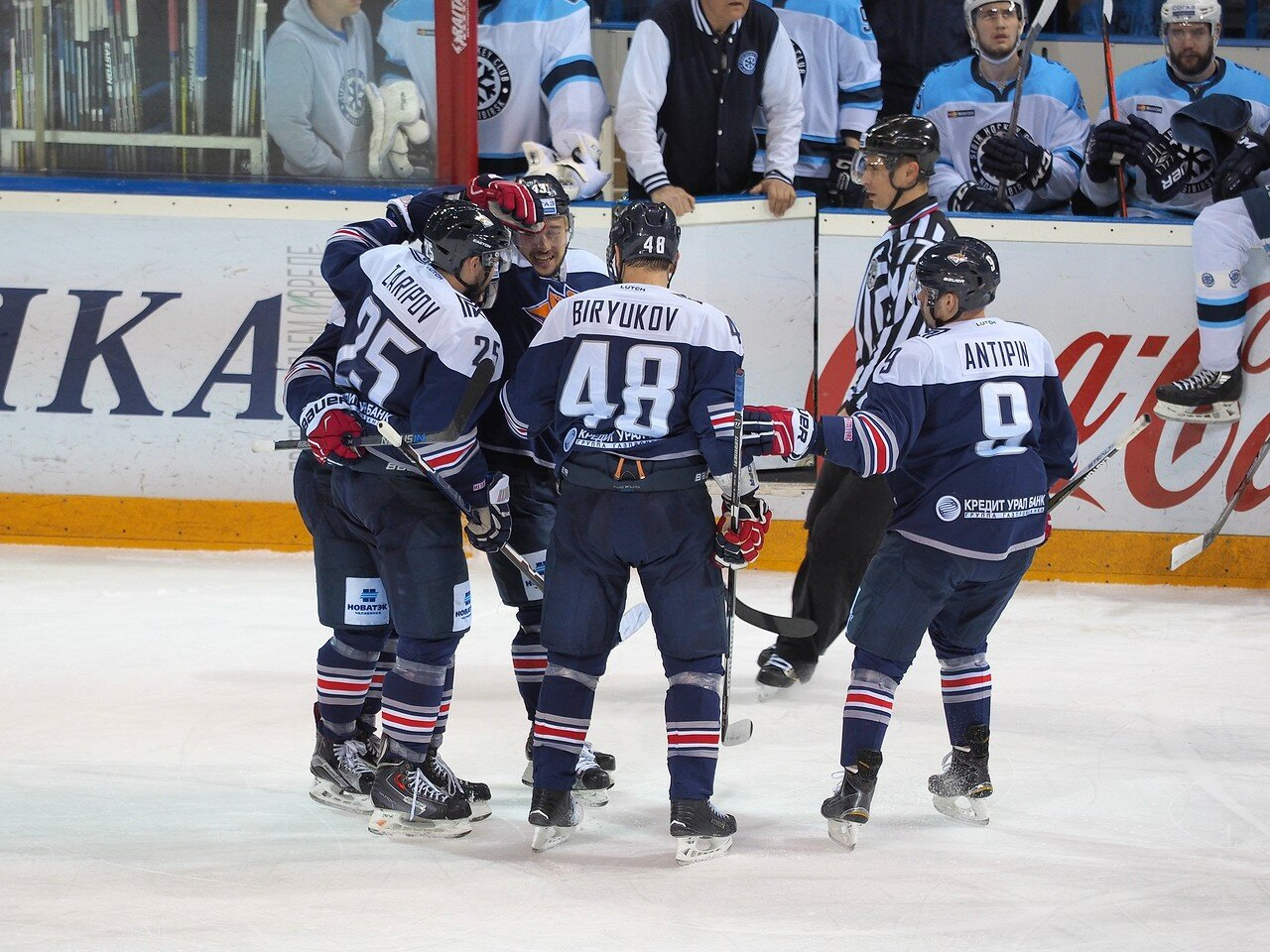 52Плей-офф 2016 Восток 1/2 Металлург - Сибирь 16.03.2016
