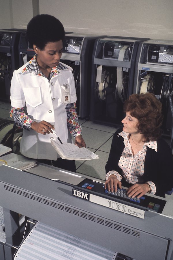 1970s Working Women at Computers