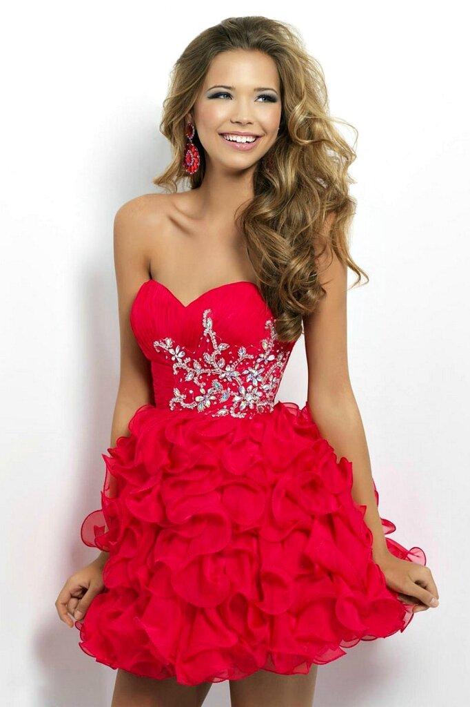 8f043beea45 Пышное красное платье наряд для любого случая – Блог о рукоделии и моде