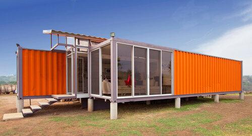 Экономичный дом из контейнеров