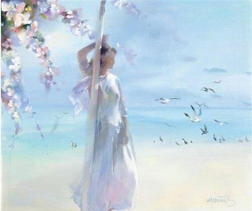 Willem Haenraets. Воздушная живопись