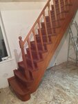 Лестница с римскими балясинами