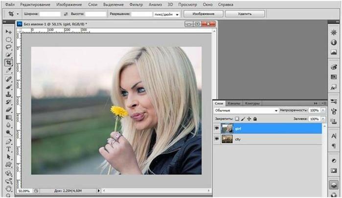 Простой способ выделения сложного объекта в Photoshop