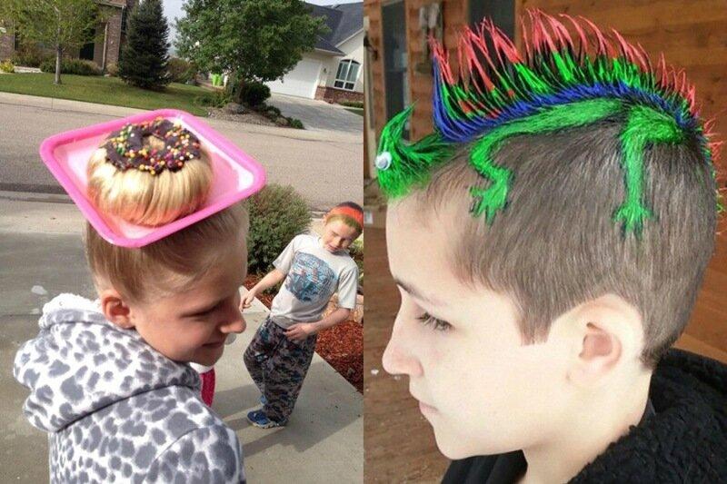 День сумасшедших волос – праздник для детей