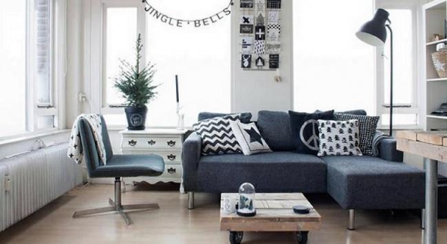 Диван или кровать, журнальный столик, комод, шкаф— вся мебель должны «парить» над полом, аневраст