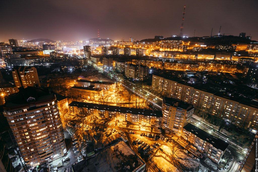 днем фото зимней ночной москвы с крыши очень давно