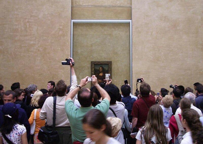 Мона Лиза, Лувр, Париж, Франция