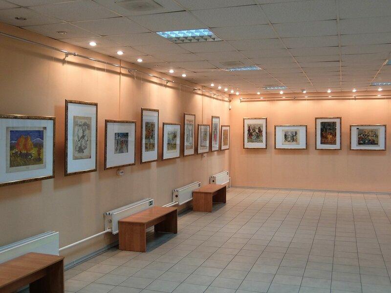 Абакан - В картинной галерее