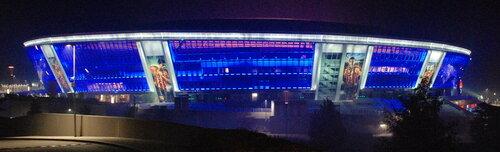 Донбасс Арена в Донецке (Украина)
