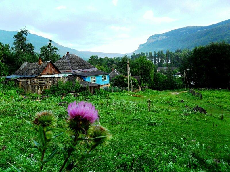 В Мезмае, в долине реки Курджипс .... SAM_0671.JPG