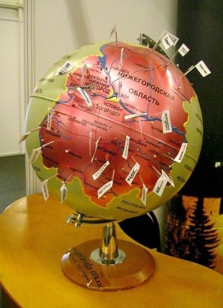 Как можно сделать глобус