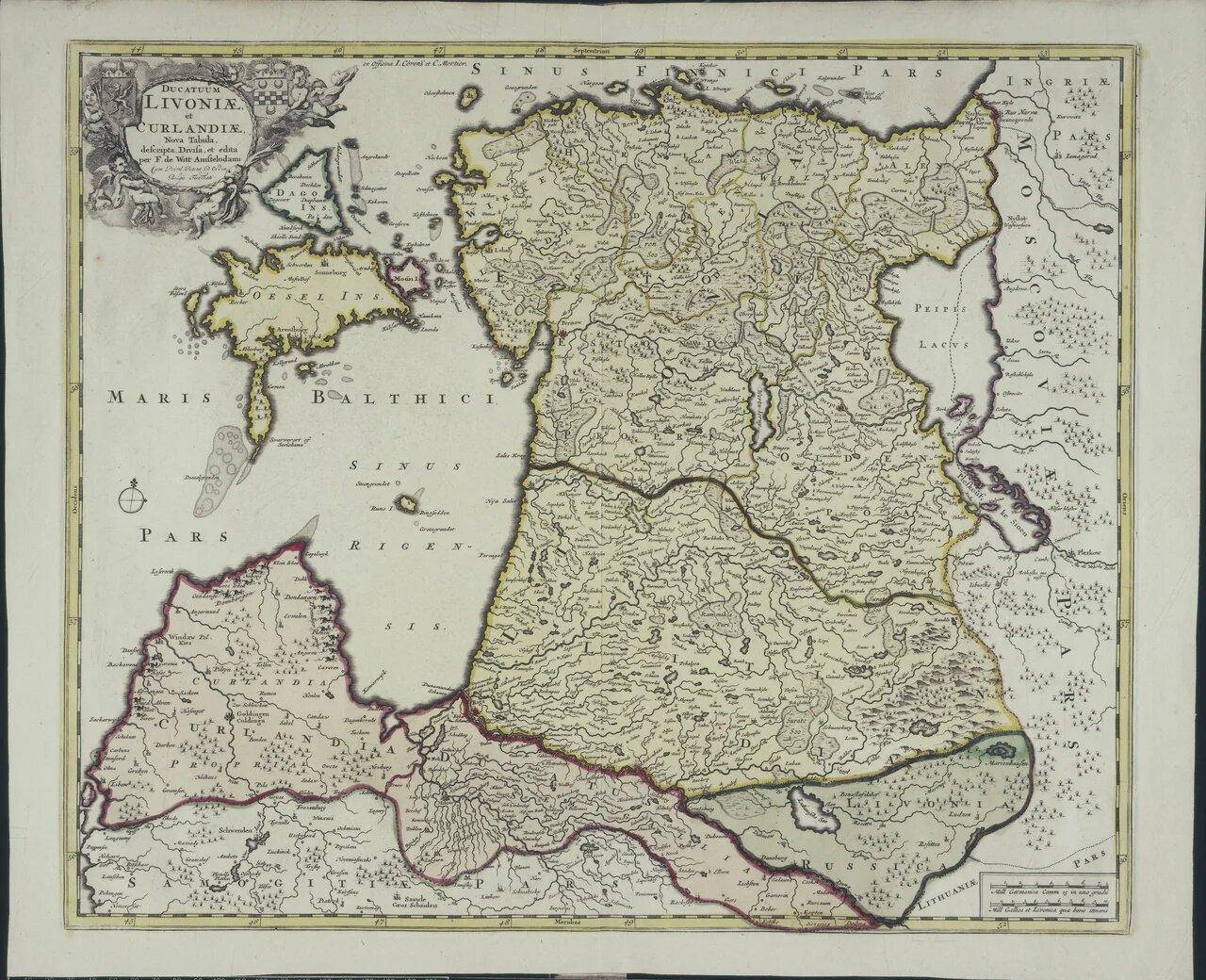 1721. Ливония и Курляндия