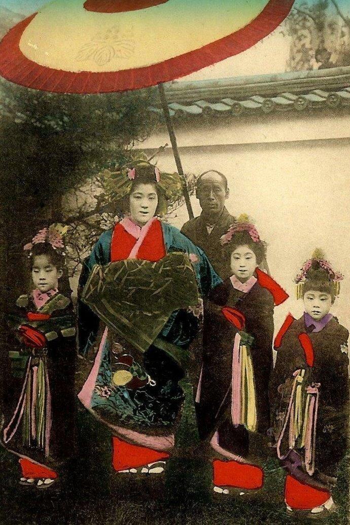 Ойран на празднике. 1910-е