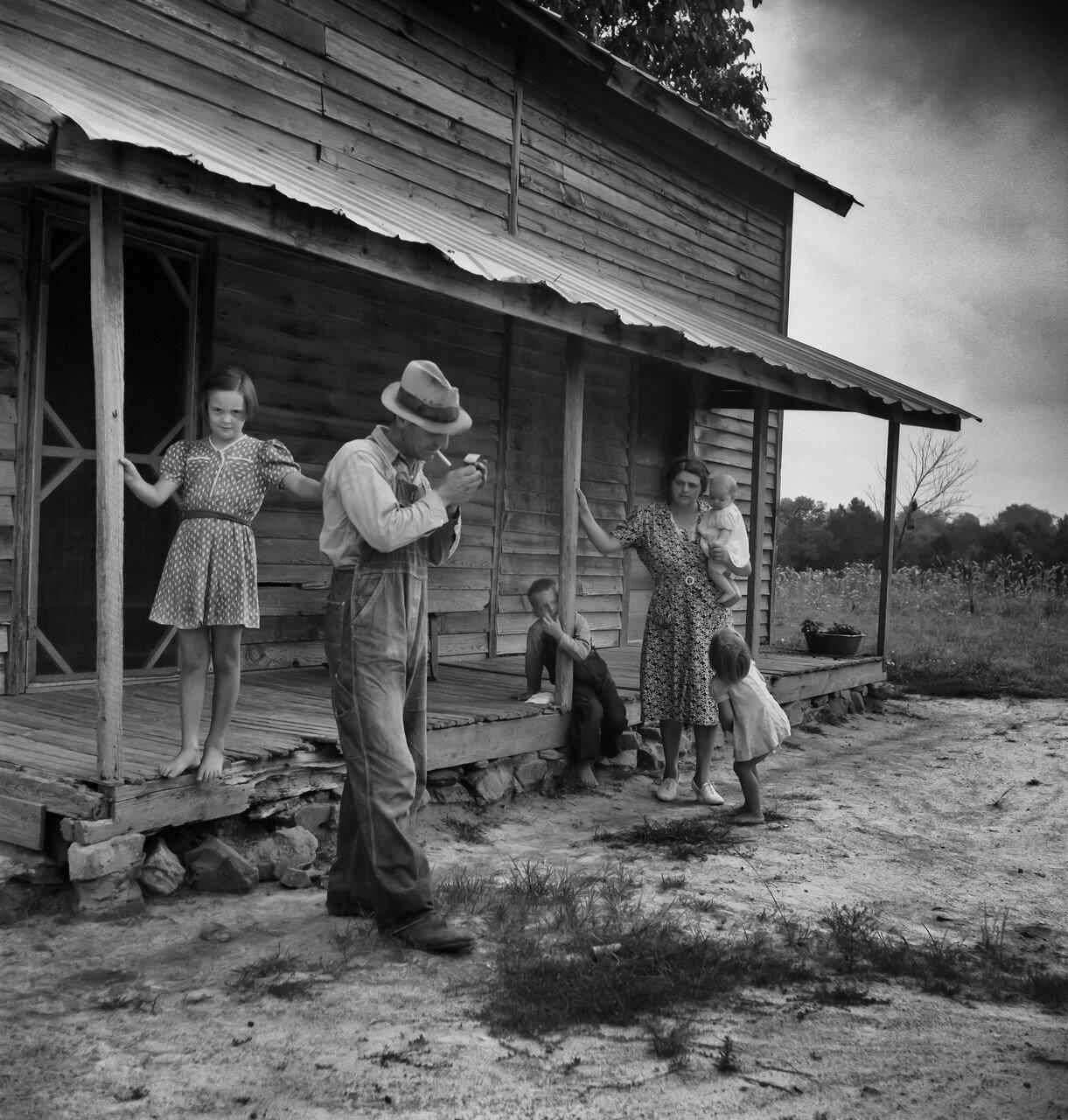 1939. Издольщик готов вернуться на поле, Северная Каролина