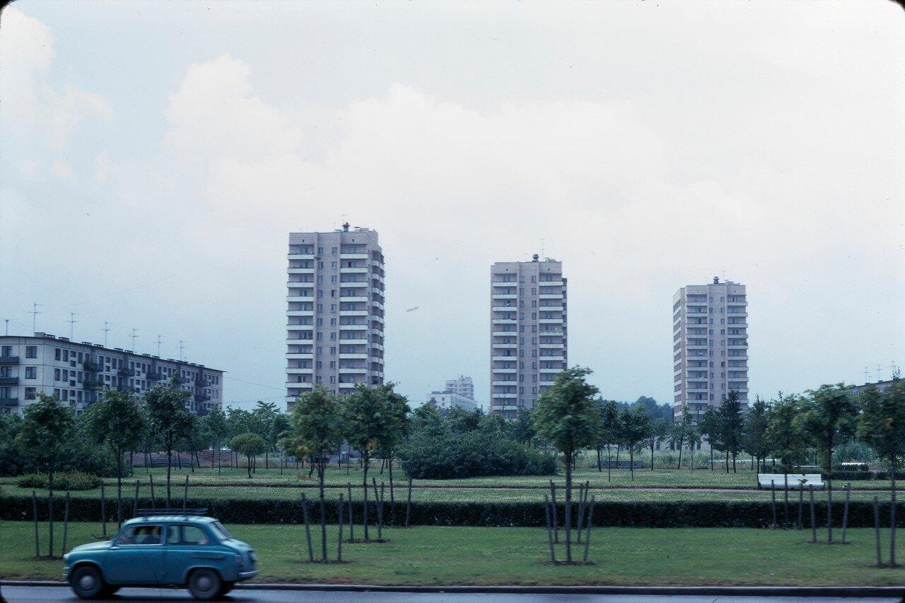 Новые многоквартирные дома