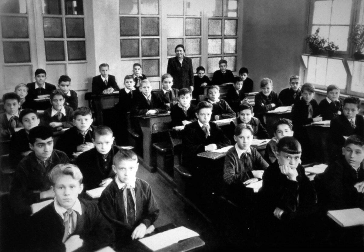 1951. 7«е» класс Московской школы №186