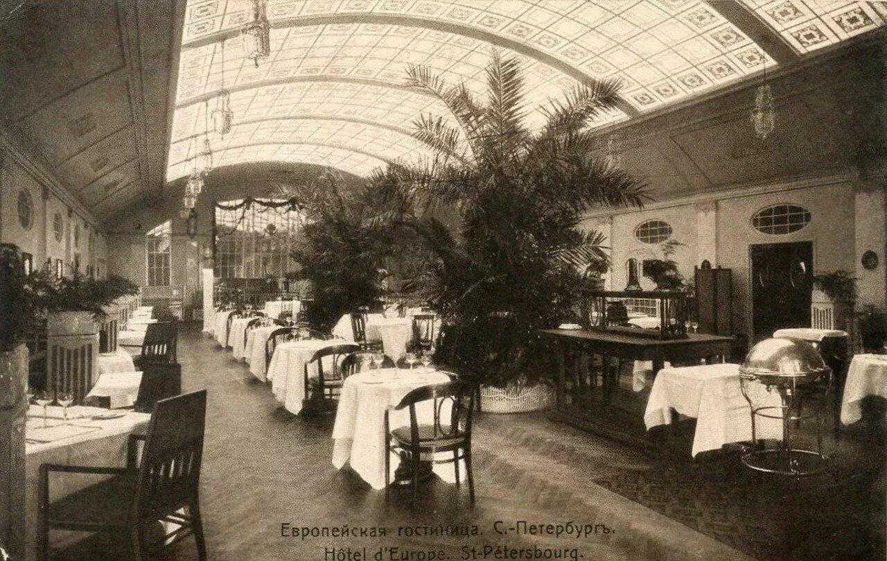 Гостиница «Европейская». Ресторан «Крыша»