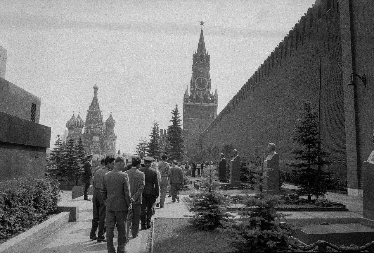 Красная площадь. Некрополь