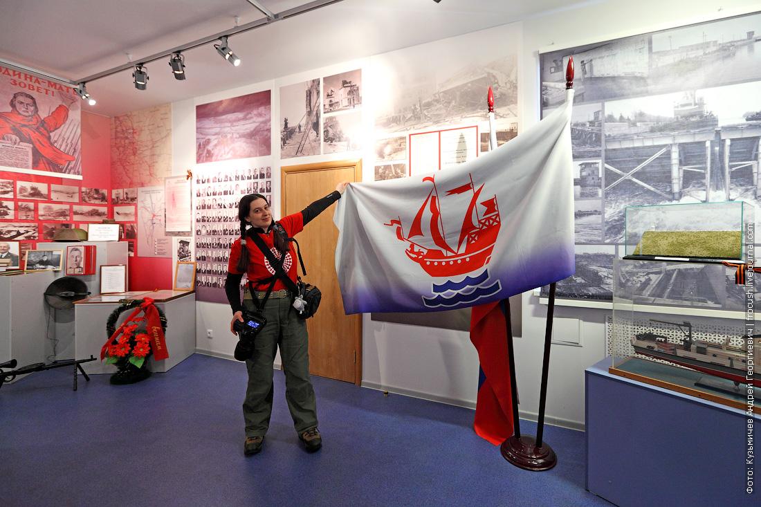 блогеры в музее канала имени Москвы