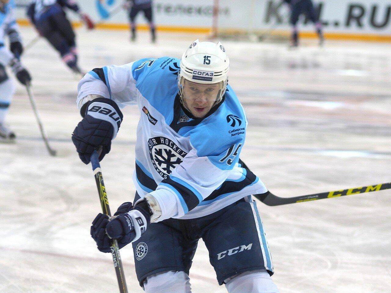 12Восток 1/2 плей-офф Металлург - Сибирь 08.03.2016