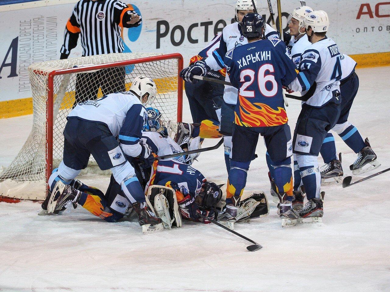 37Плей-офф МХЛ 2016 1/4 Стальные Лисы - Сибирские Снайперы 21.03.2016