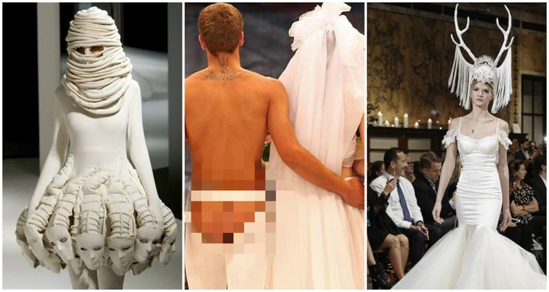 Странные свадебные наряды