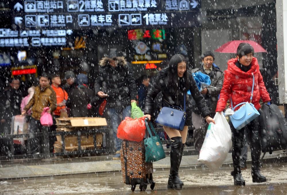 Кадры жизни людей в Китае