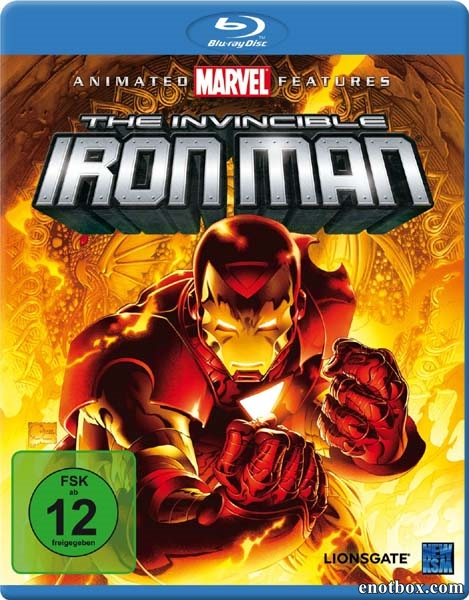 Несокрушимый Железный человек / The Invincible Iron Man (2007/BDRip/HDRip)