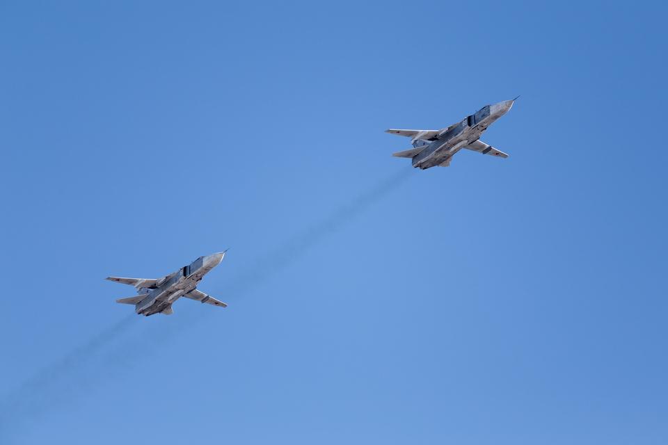 Су-24 (Fencer) — бомбардировщик