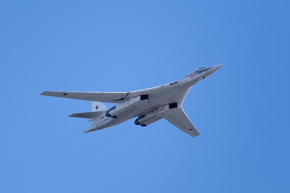 Ту-160 «Павел Таран» (Белый лебедь / Blackjack) — сверхзвуковой стратегический бомбардировщик-ракетоносец