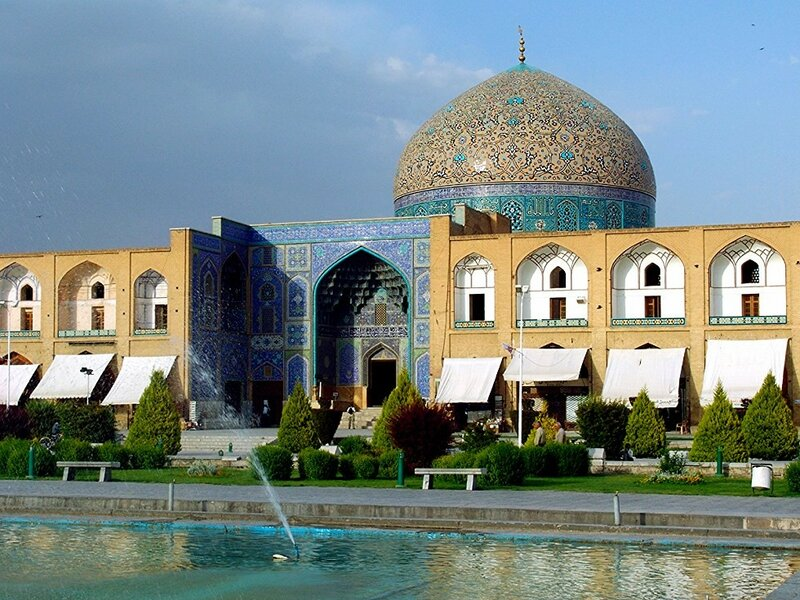 Мечеть Имама в Исфахане (шедевр персидской архитектуры)