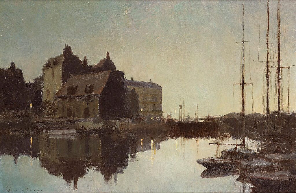 Dusk at Honfleur.jpeg