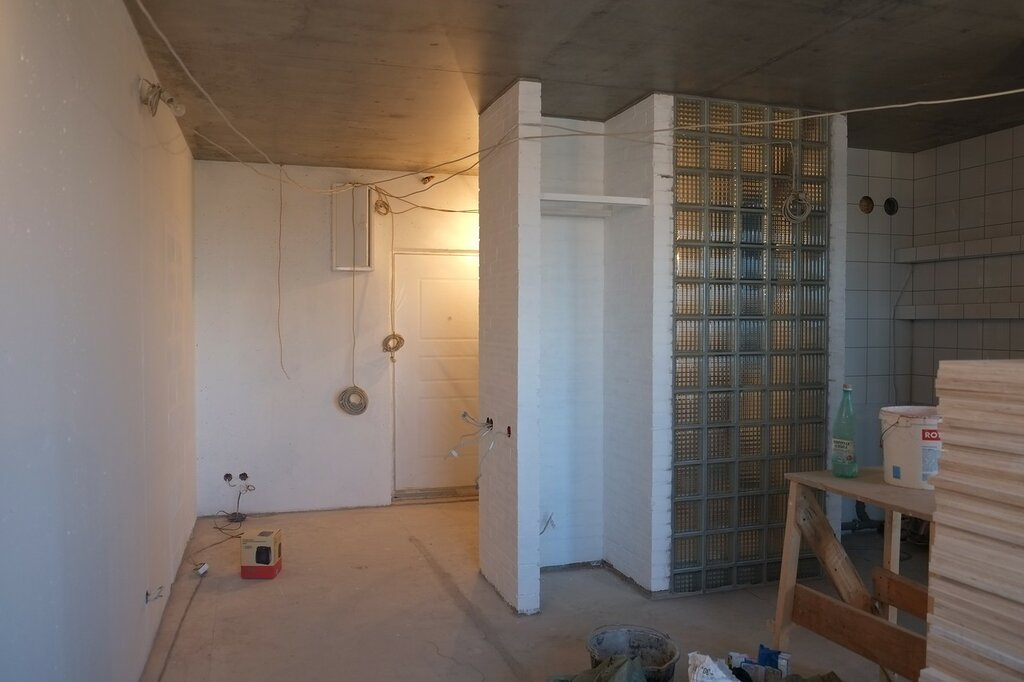 После покраски комната преобразилась