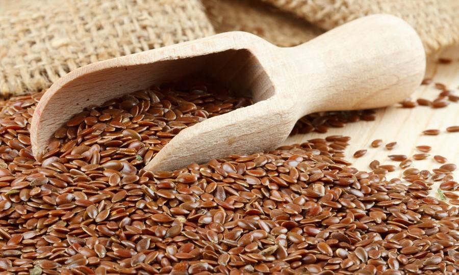 8. Льняные семена Еще один обязательный продукт для тех, кого беспокоит пищеварительная система. Обы