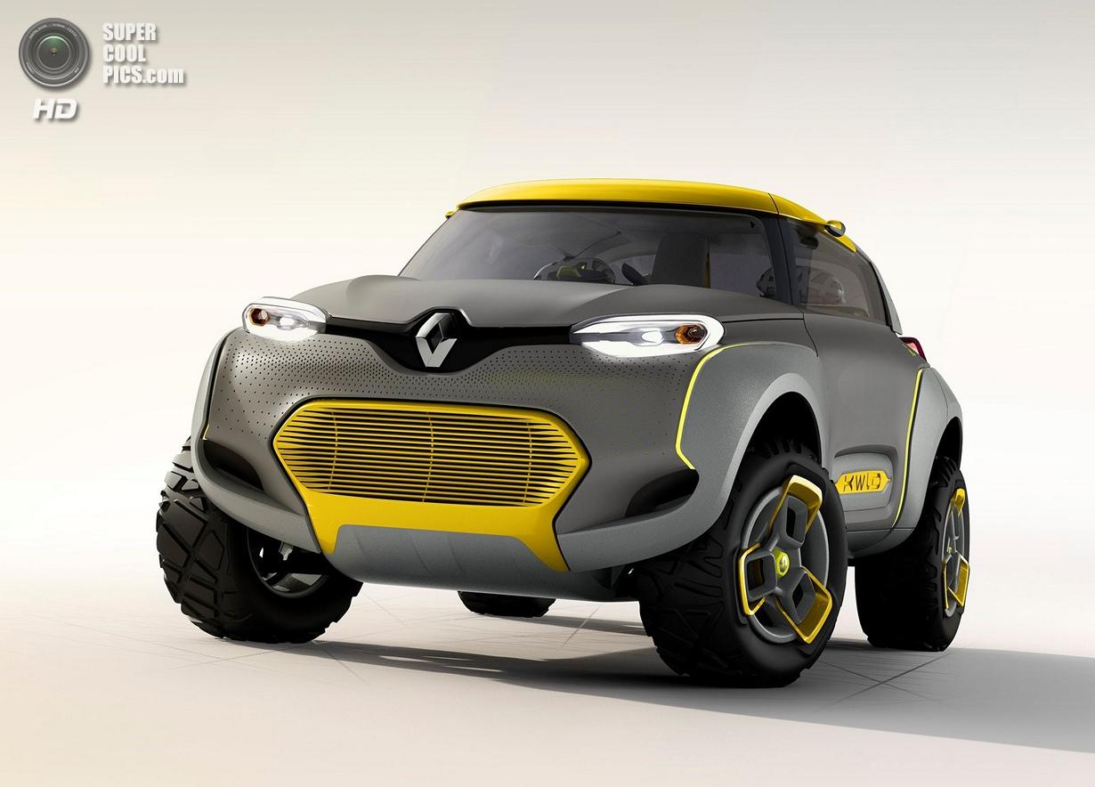 Renault Kwid: Дизайнерское безумие с квадрокоптером (19 фото)