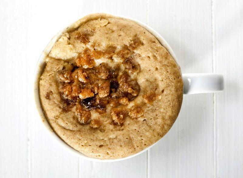 14. Кофейный кекс Вам понадобятся: мука — 3 ст. л. растворимый кофе — 1 ч. л. какао-порошок — 2 ст.
