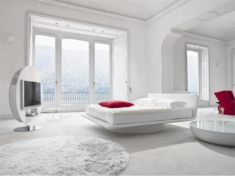 Белый цвет в интерьере спальни фото (10)