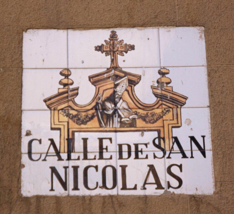 Мадрид (Madrid), Calle de San Nicolas