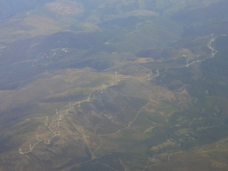 Испания с самолета (Spain, view from airplane)